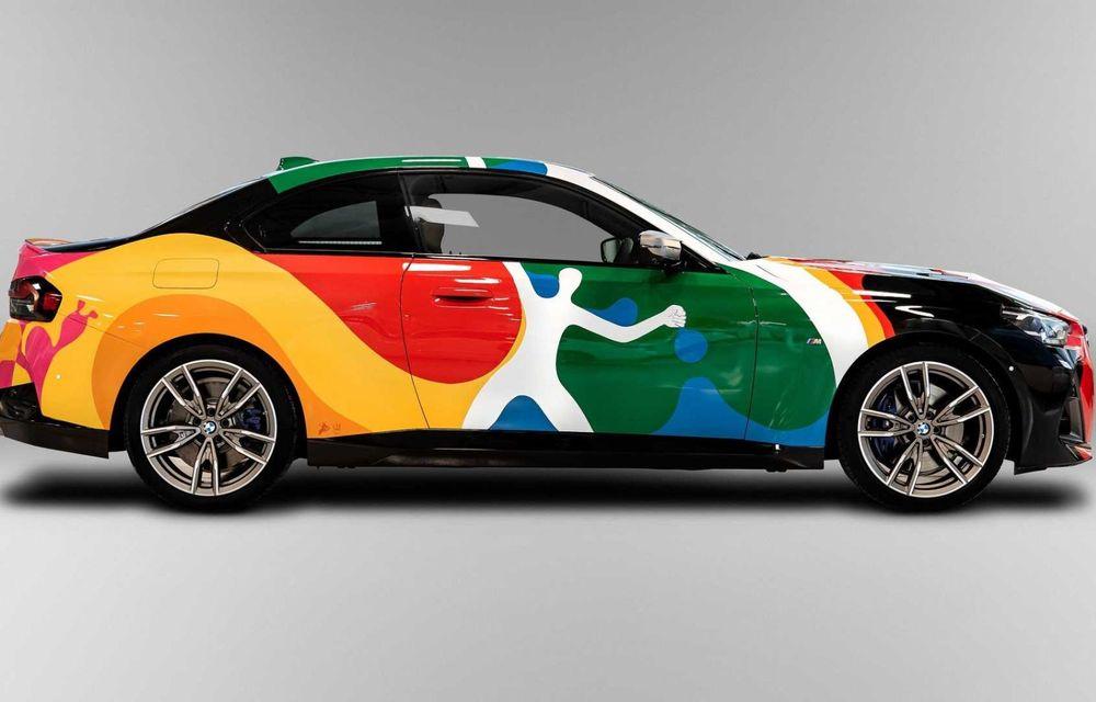 Noul BMW Seria 2 Coupe, transformat în Art Car cu ajutorul unui artist mexican - Poza 8