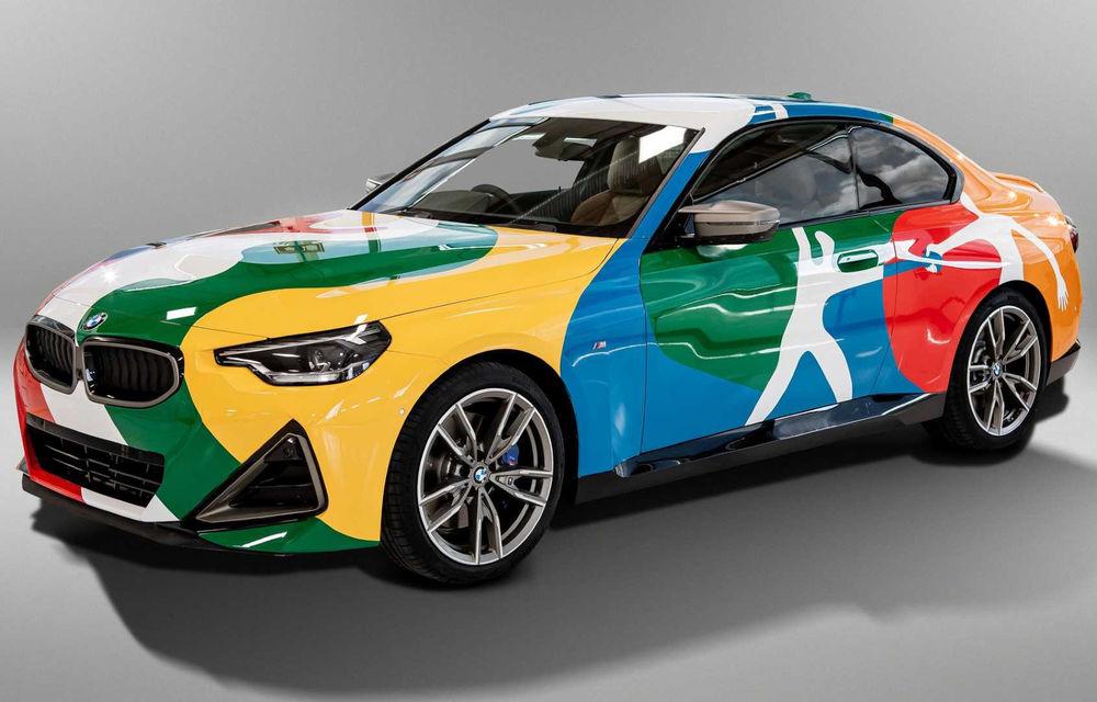 Noul BMW Seria 2 Coupe, transformat în Art Car cu ajutorul unui artist mexican - Poza 1