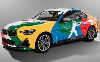 Noul BMW Seria 2 Coupe, transformat în Art Car cu ajutorul unui artist mexican