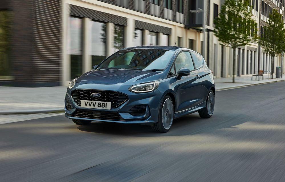 Ford Fiesta Van facelift vine cu faruri LED în standard și poate funcționa cu bio-combustibil E85 - Poza 2