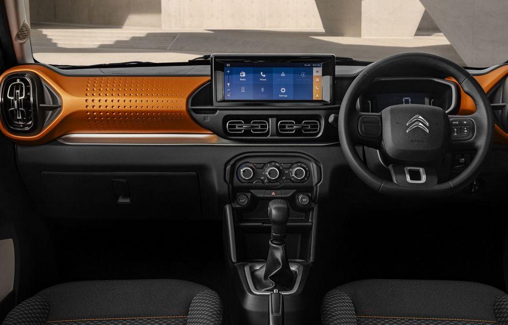 """Citroen New C3 este un """"hatchback modern"""" pentru India și America de Sud - Poza 10"""