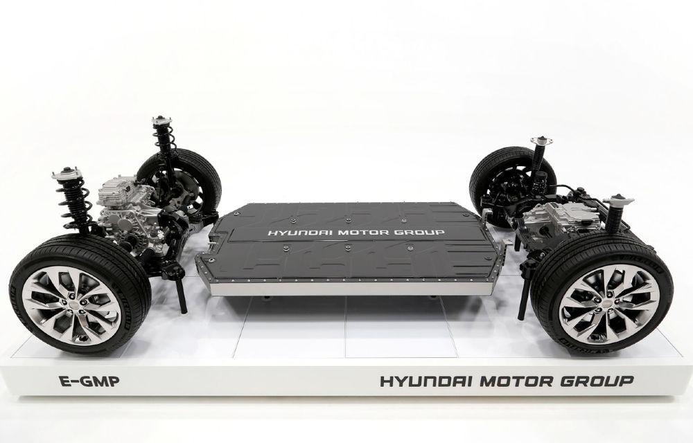 Bateriile uzate ale mașinilor electrice Hyundai, refolosite în parcuri fotovoltaice - Poza 1