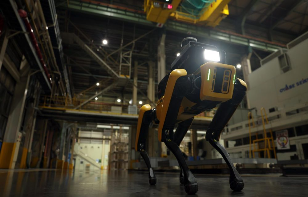 Hyundai pune la treabă roboții Boston Dynamics: primul exemplar va patrula printr-o fabrică din Coreea - Poza 3