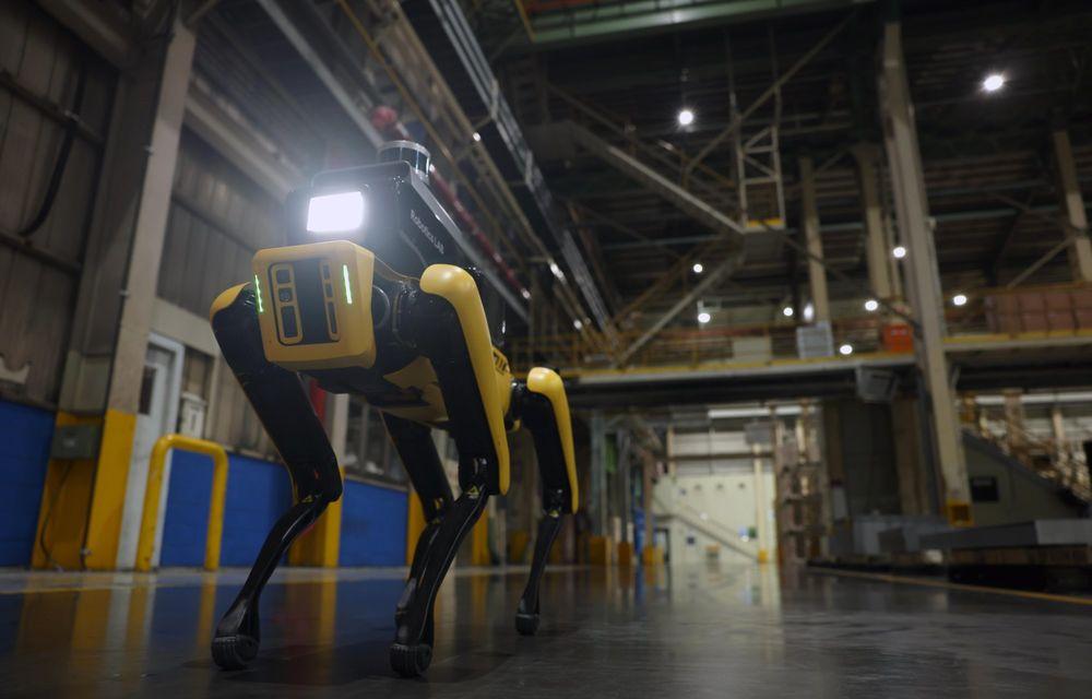 Hyundai pune la treabă roboții Boston Dynamics: primul exemplar va patrula printr-o fabrică din Coreea - Poza 4