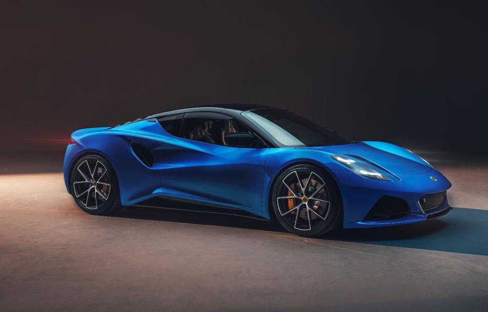 Detalii complete Lotus Emira First Edition: 400 CP și 0-100 km/h în 4.2 secunde - Poza 1