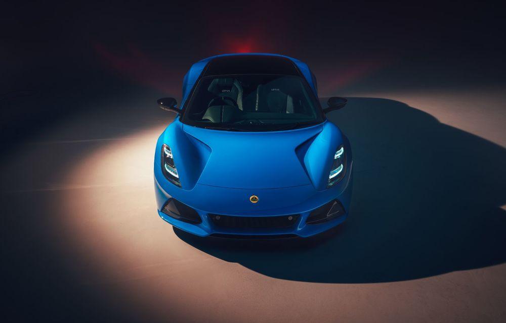 Detalii complete Lotus Emira First Edition: 400 CP și 0-100 km/h în 4.2 secunde - Poza 2