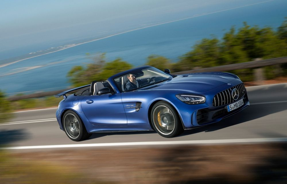Mercedes-AMG ar putea lansa o decapotabilă cu zero emisii - Poza 1