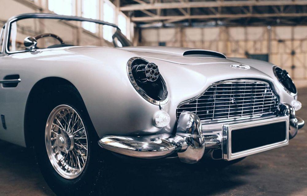Mașina lui James Bond, în miniatură: pur electrică, 21 CP și o serie de gadget-uri - Poza 4