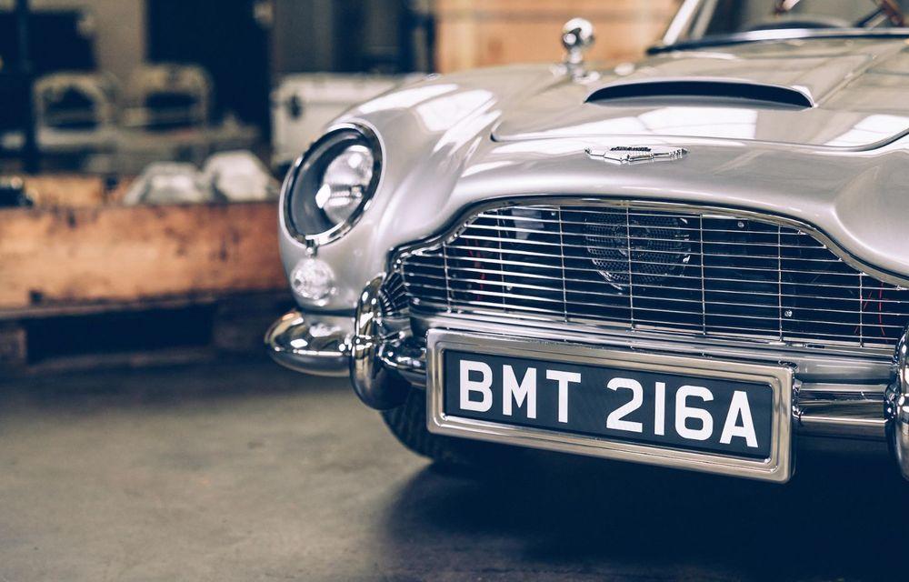 Mașina lui James Bond, în miniatură: pur electrică, 21 CP și o serie de gadget-uri - Poza 6