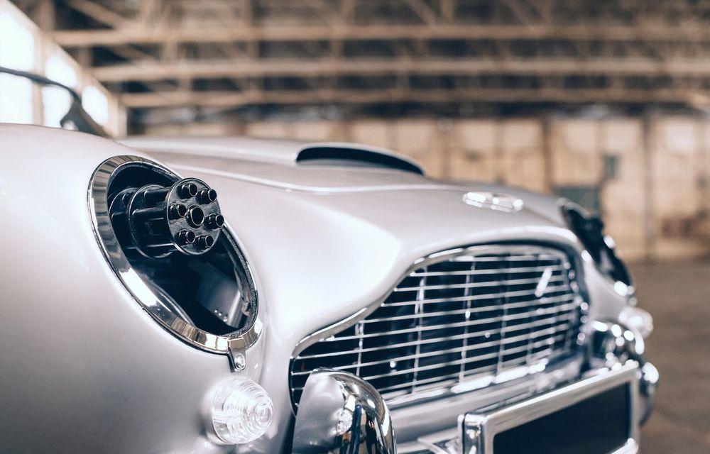 Mașina lui James Bond, în miniatură: pur electrică, 21 CP și o serie de gadget-uri - Poza 5