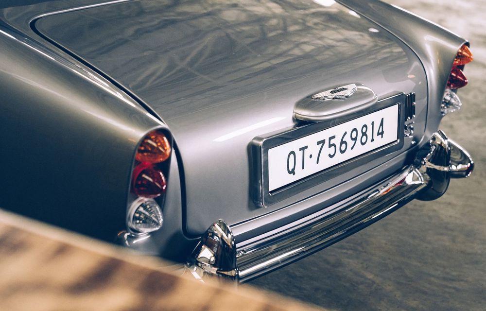 Mașina lui James Bond, în miniatură: pur electrică, 21 CP și o serie de gadget-uri - Poza 7