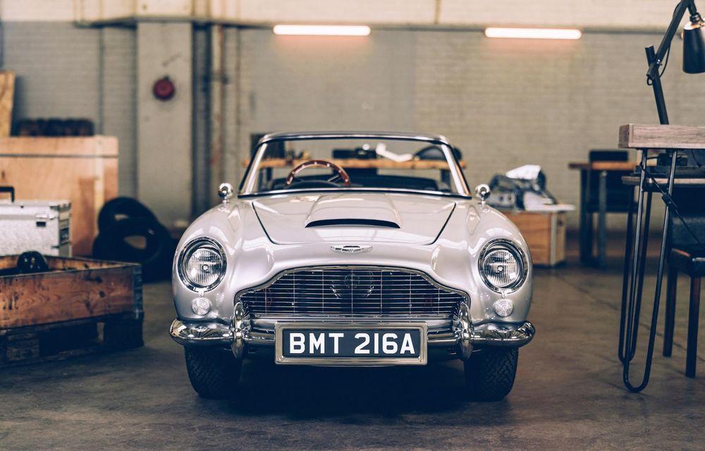 Mașina lui James Bond, în miniatură: pur electrică, 21 CP și o serie de gadget-uri - Poza 3