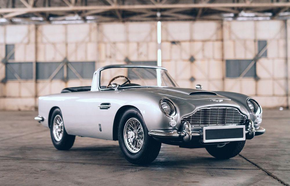 Mașina lui James Bond, în miniatură: pur electrică, 21 CP și o serie de gadget-uri - Poza 1