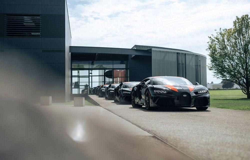 Primele 8 exemplare Bugatti Chiron Super Sport 300+ au fost finalizate - Poza 4