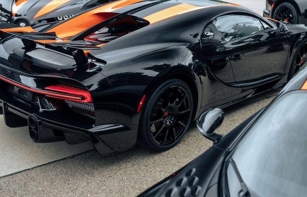 Primele 8 exemplare Bugatti Chiron Super Sport 300+ au fost finalizate - Poza 7