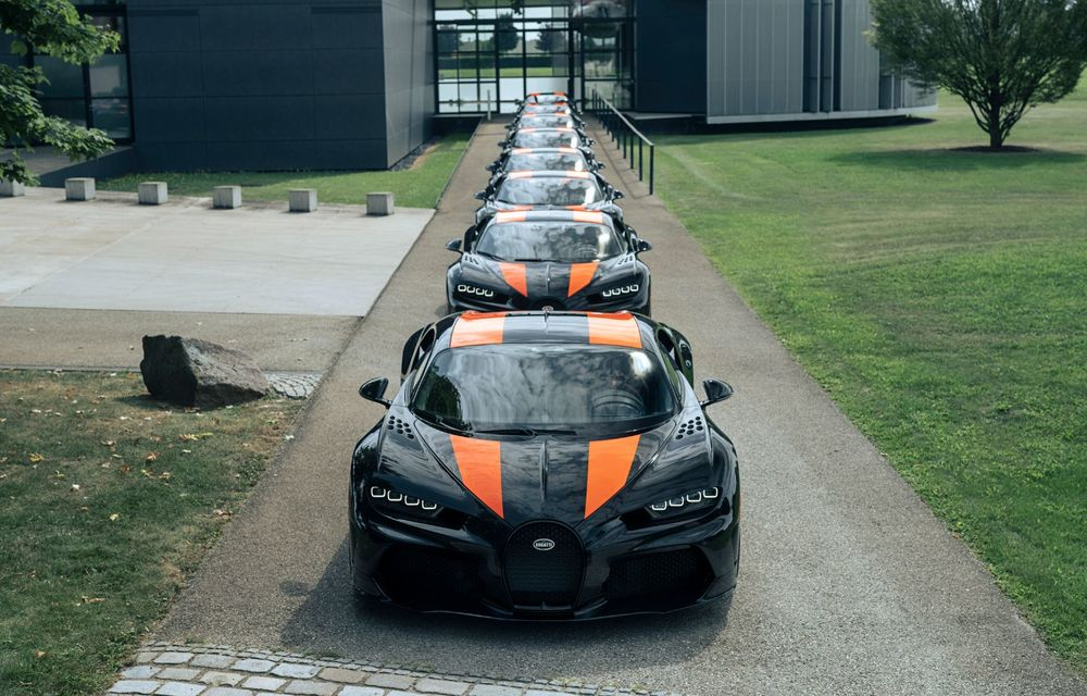 Primele 8 exemplare Bugatti Chiron Super Sport 300+ au fost finalizate - Poza 3