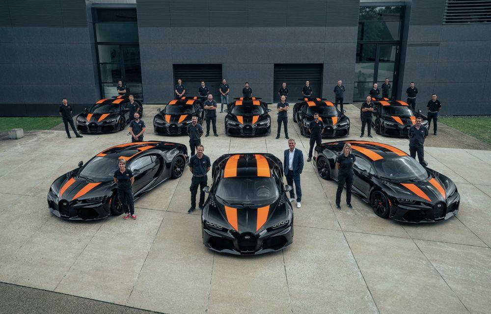 Primele 8 exemplare Bugatti Chiron Super Sport 300+ au fost finalizate - Poza 2