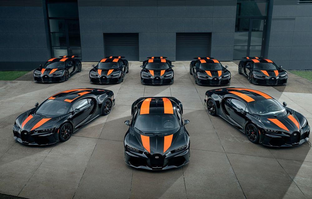 Primele 8 exemplare Bugatti Chiron Super Sport 300+ au fost finalizate - Poza 1