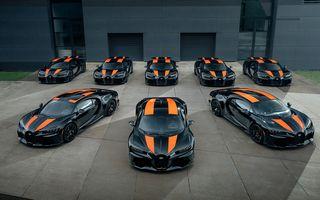 Primele 8 exemplare Bugatti Chiron Super Sport 300+ au fost finalizate