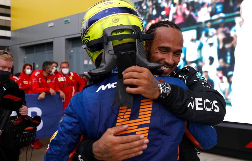MP al Rusiei: Lewis Hamilton ajunge la 100 de victorii în Formula 1. Dezamăgire pentru Lando Norris - Poza 7