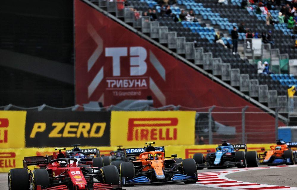 MP al Rusiei: Lewis Hamilton ajunge la 100 de victorii în Formula 1. Dezamăgire pentru Lando Norris - Poza 2