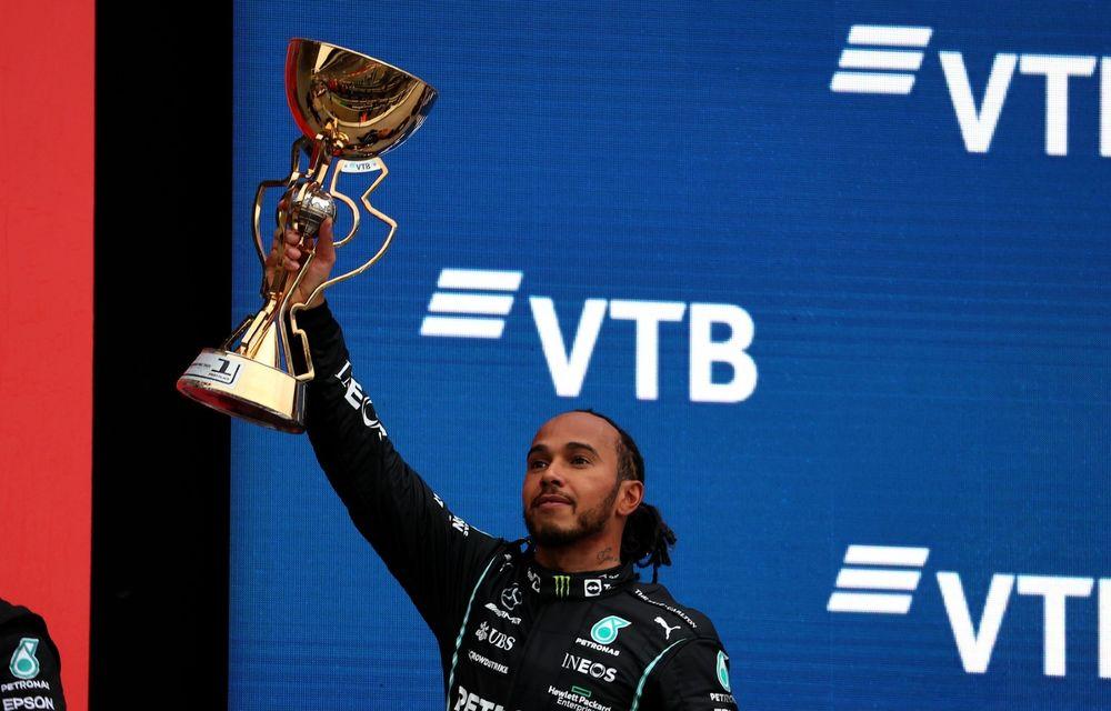 MP al Rusiei: Lewis Hamilton ajunge la 100 de victorii în Formula 1. Dezamăgire pentru Lando Norris - Poza 1