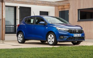 Dacia Sandero, cea mai vândută mașină din Europa pentru a doua lună consecutiv
