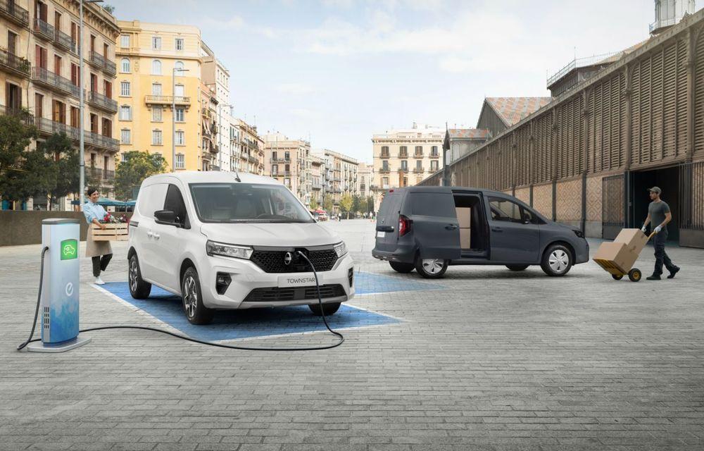 Nissan lansează noua utilitară Townstar. Înlocuitorul lui NV200 va fi disponibil și în versiune electrică - Poza 9