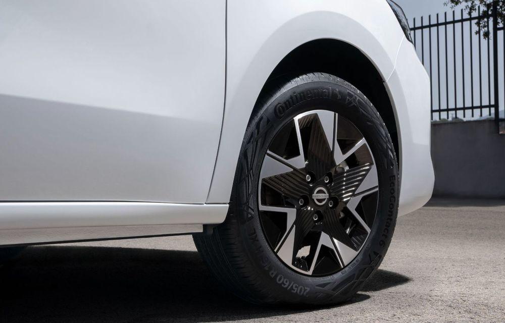 Nissan lansează noua utilitară Townstar. Înlocuitorul lui NV200 va fi disponibil și în versiune electrică - Poza 25