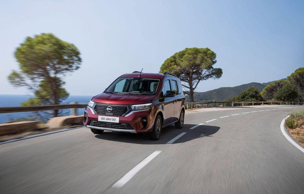 Nissan lansează noua utilitară Townstar. Înlocuitorul lui NV200 va fi disponibil și în versiune electrică - Poza 10