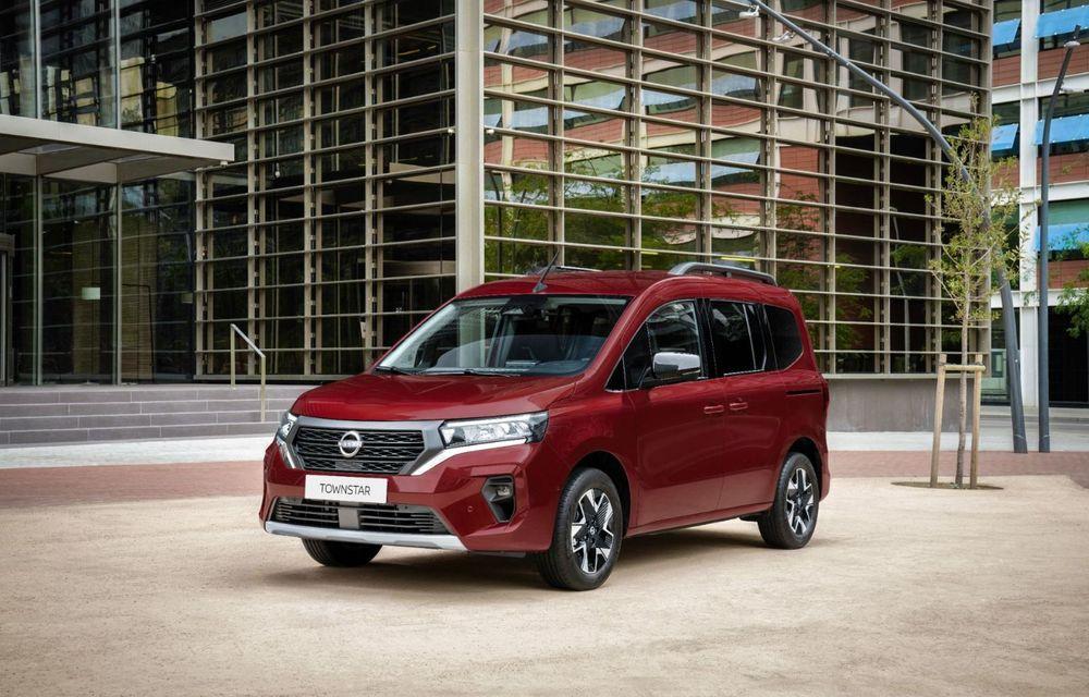Nissan lansează noua utilitară Townstar. Înlocuitorul lui NV200 va fi disponibil și în versiune electrică - Poza 11