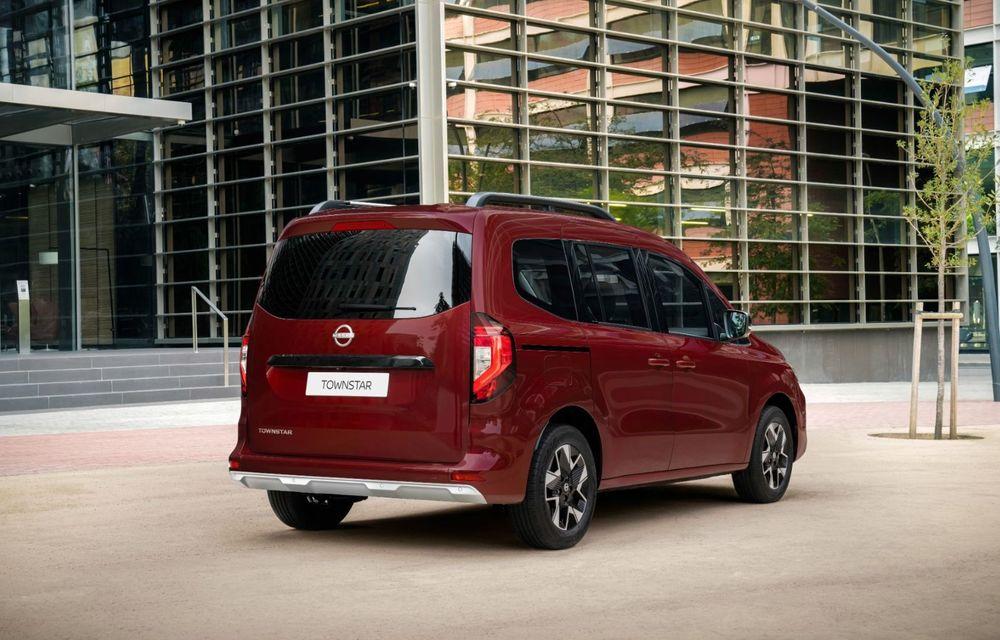 Nissan lansează noua utilitară Townstar. Înlocuitorul lui NV200 va fi disponibil și în versiune electrică - Poza 12
