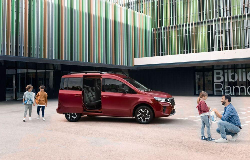 Nissan lansează noua utilitară Townstar. Înlocuitorul lui NV200 va fi disponibil și în versiune electrică - Poza 13