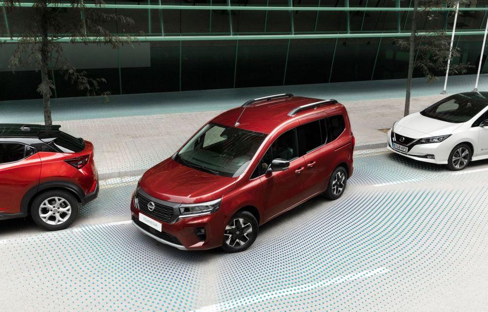 Nissan lansează noua utilitară Townstar. Înlocuitorul lui NV200 va fi disponibil și în versiune electrică - Poza 14