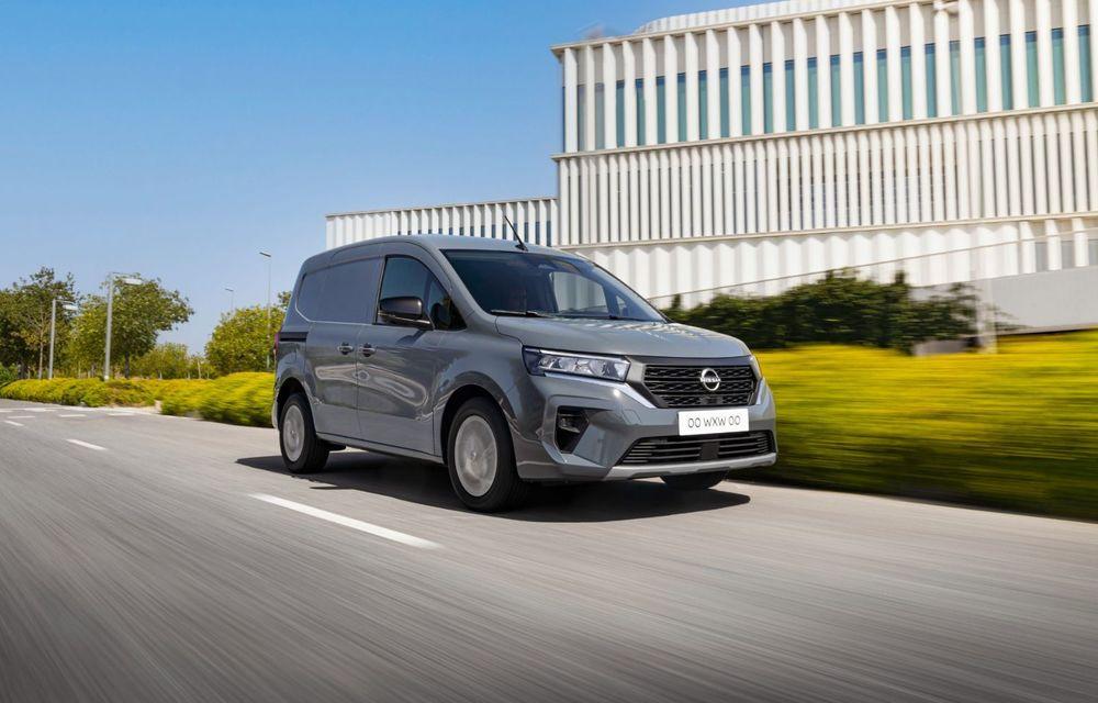 Nissan lansează noua utilitară Townstar. Înlocuitorul lui NV200 va fi disponibil și în versiune electrică - Poza 15