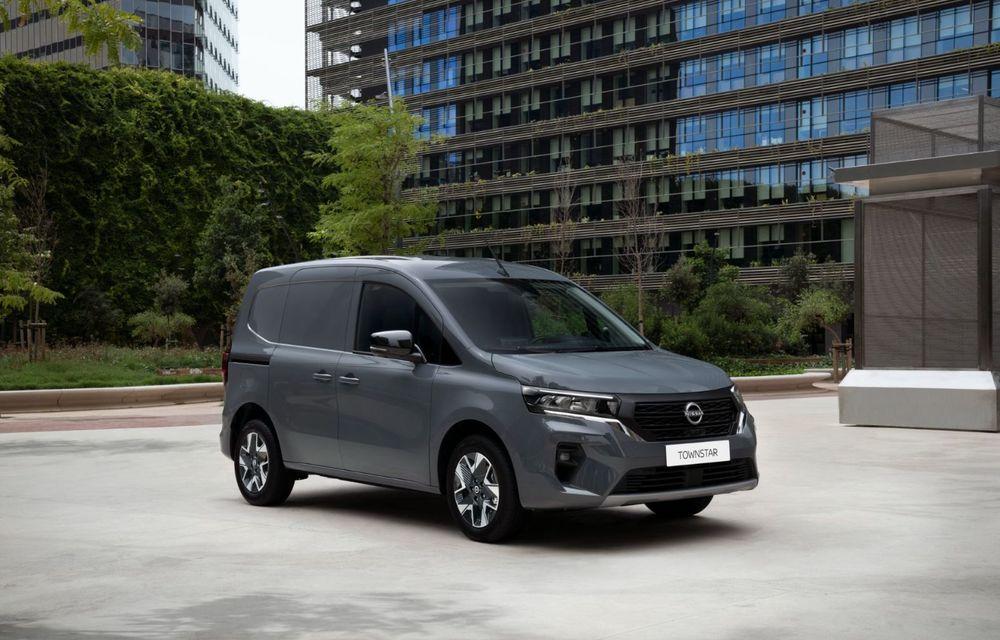 Nissan lansează noua utilitară Townstar. Înlocuitorul lui NV200 va fi disponibil și în versiune electrică - Poza 20