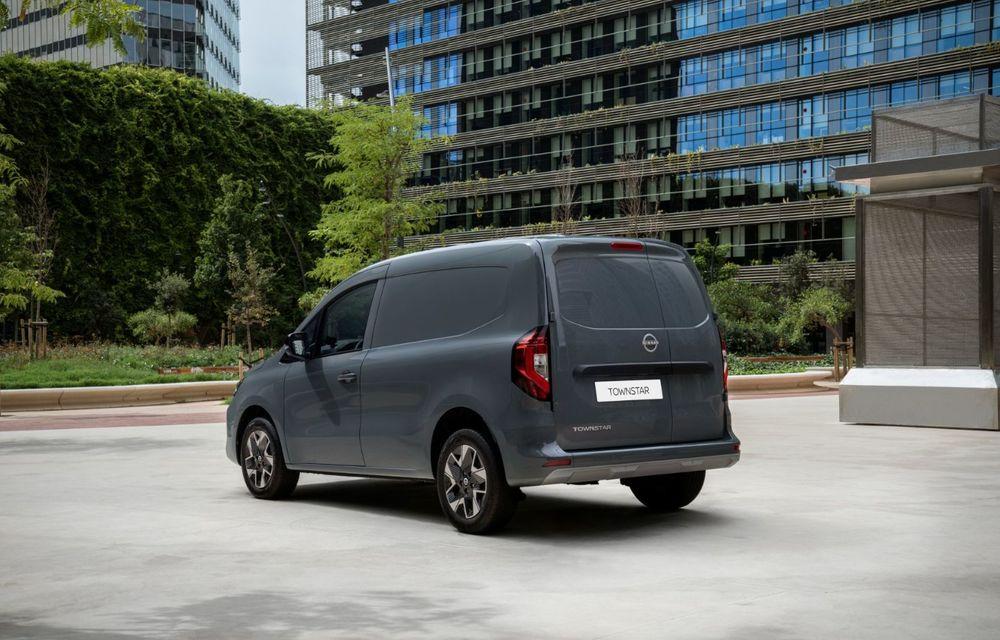 Nissan lansează noua utilitară Townstar. Înlocuitorul lui NV200 va fi disponibil și în versiune electrică - Poza 21