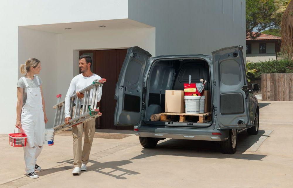 Nissan lansează noua utilitară Townstar. Înlocuitorul lui NV200 va fi disponibil și în versiune electrică - Poza 22