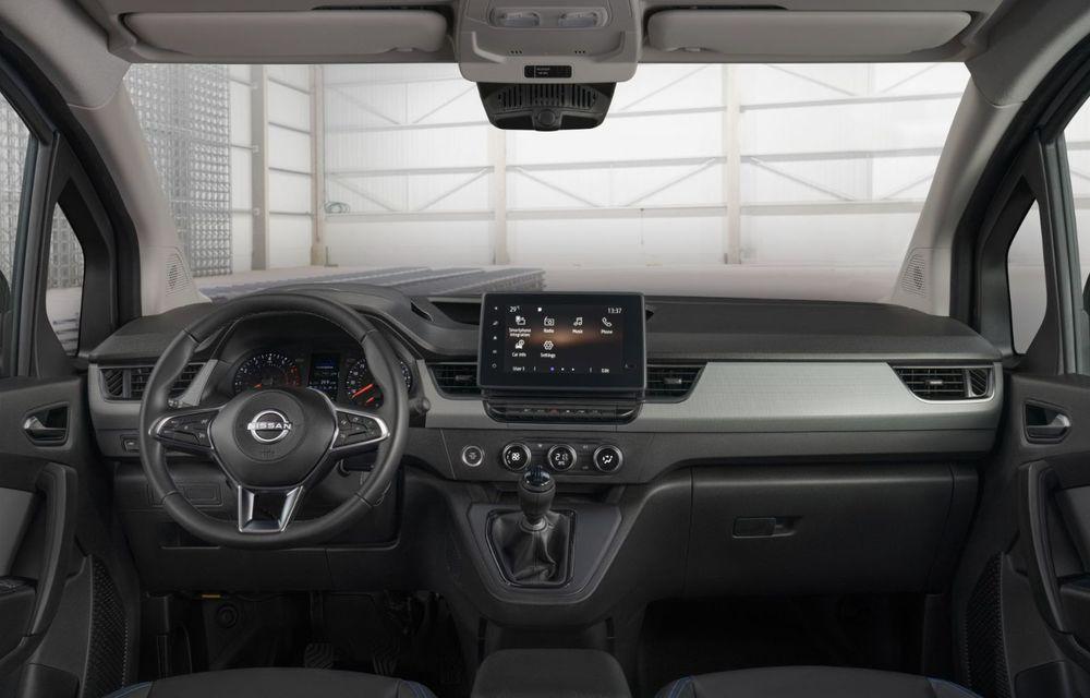 Nissan lansează noua utilitară Townstar. Înlocuitorul lui NV200 va fi disponibil și în versiune electrică - Poza 23