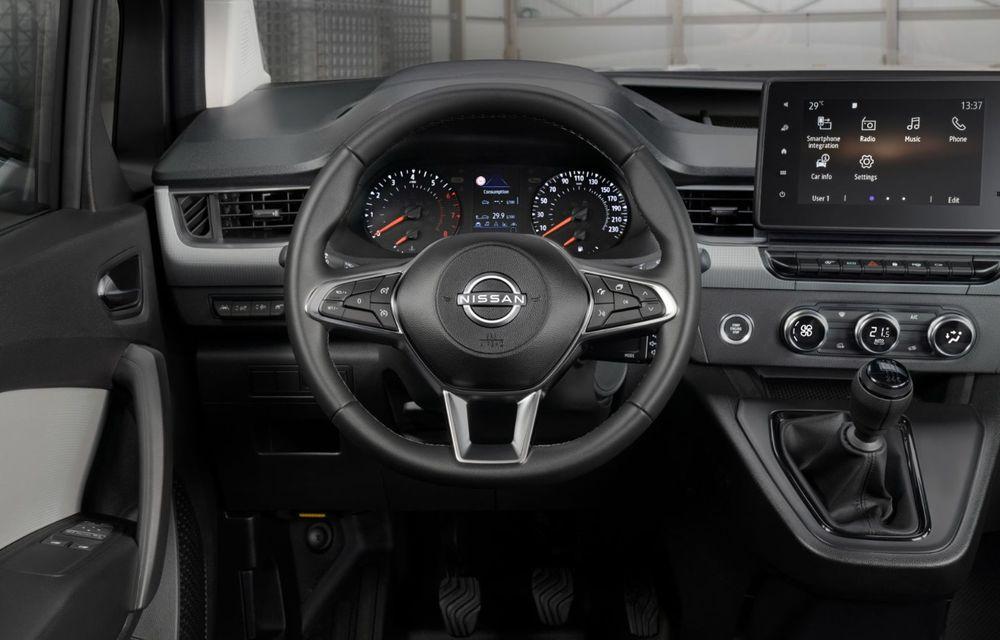 Nissan lansează noua utilitară Townstar. Înlocuitorul lui NV200 va fi disponibil și în versiune electrică - Poza 24
