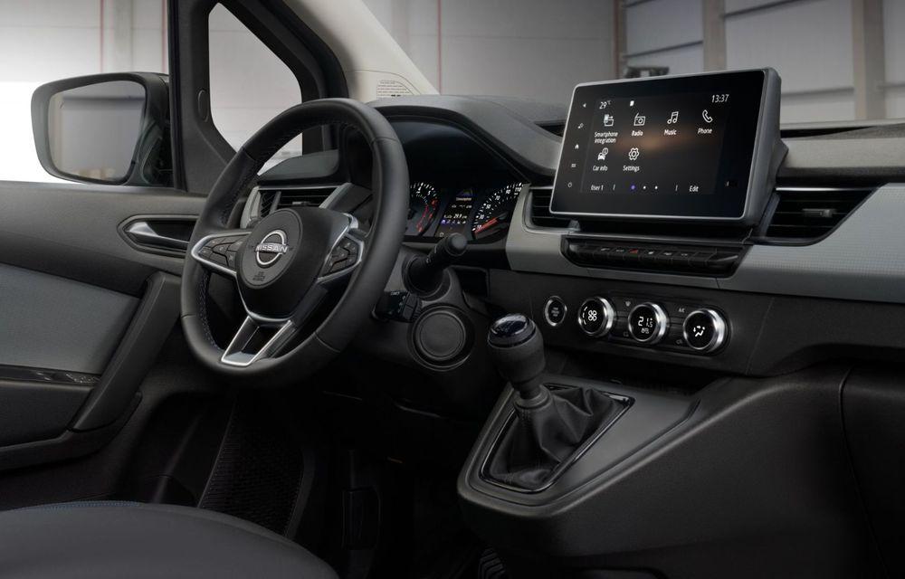 Nissan lansează noua utilitară Townstar. Înlocuitorul lui NV200 va fi disponibil și în versiune electrică - Poza 28