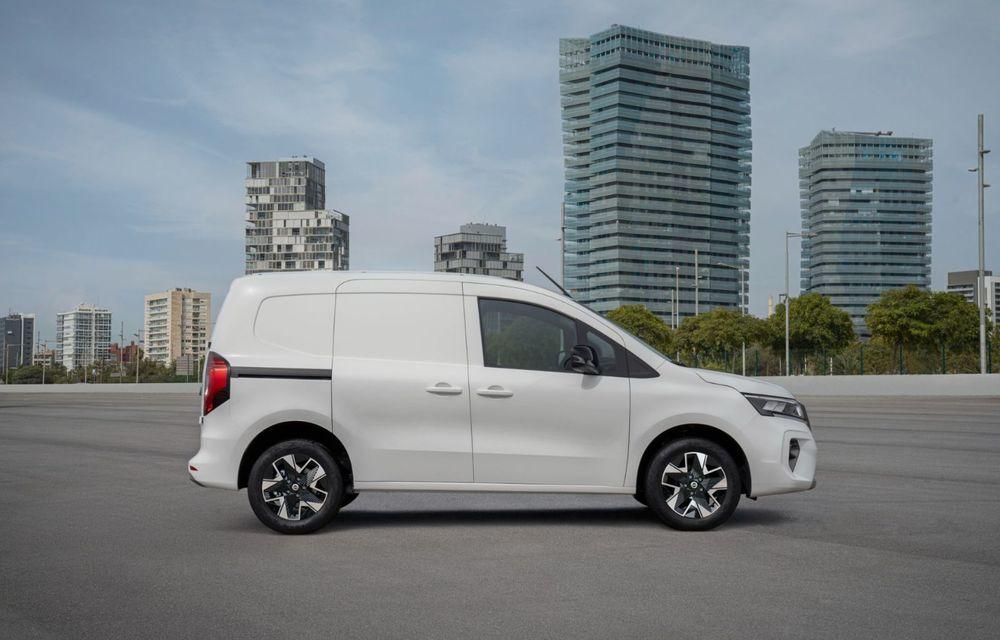 Nissan lansează noua utilitară Townstar. Înlocuitorul lui NV200 va fi disponibil și în versiune electrică - Poza 6
