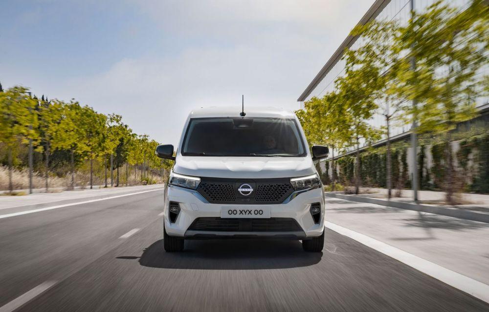 Nissan lansează noua utilitară Townstar. Înlocuitorul lui NV200 va fi disponibil și în versiune electrică - Poza 2