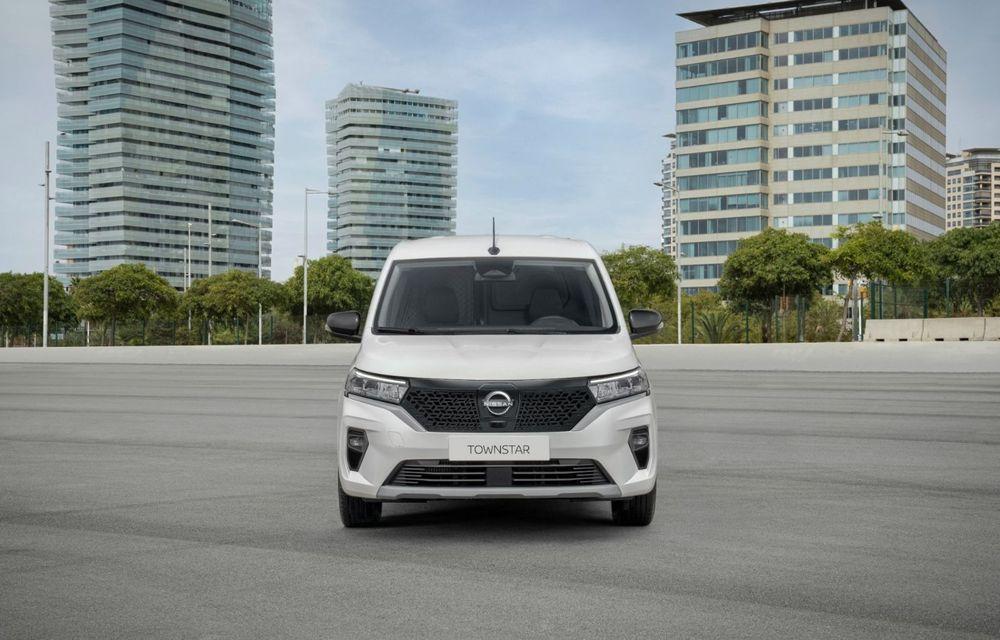 Nissan lansează noua utilitară Townstar. Înlocuitorul lui NV200 va fi disponibil și în versiune electrică - Poza 3