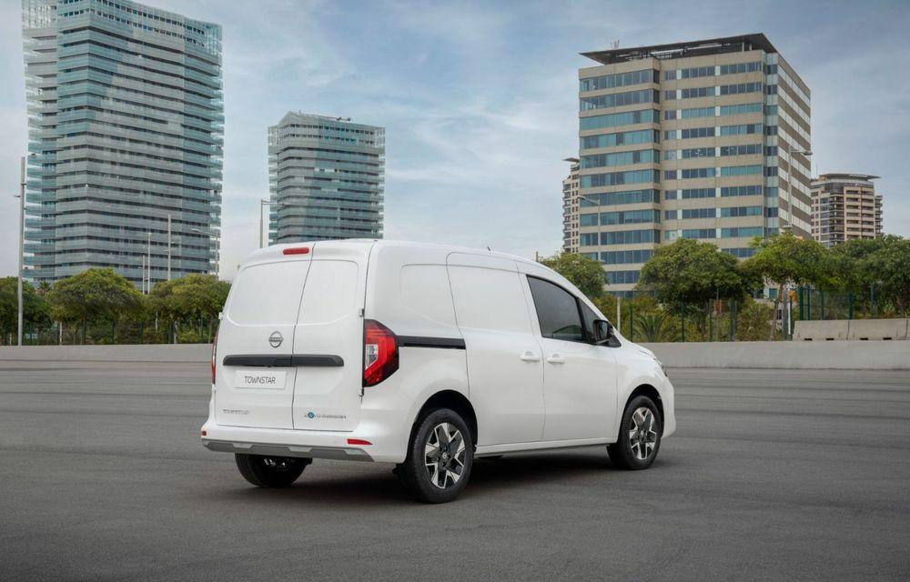 Nissan lansează noua utilitară Townstar. Înlocuitorul lui NV200 va fi disponibil și în versiune electrică - Poza 7
