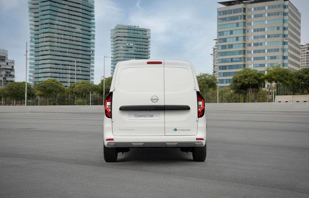 Nissan lansează noua utilitară Townstar. Înlocuitorul lui NV200 va fi disponibil și în versiune electrică - Poza 8