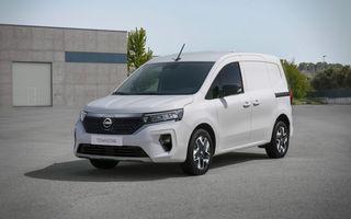 Nissan lansează noua utilitară Townstar. Înlocuitorul lui NV200 va fi disponibil și în versiune electrică