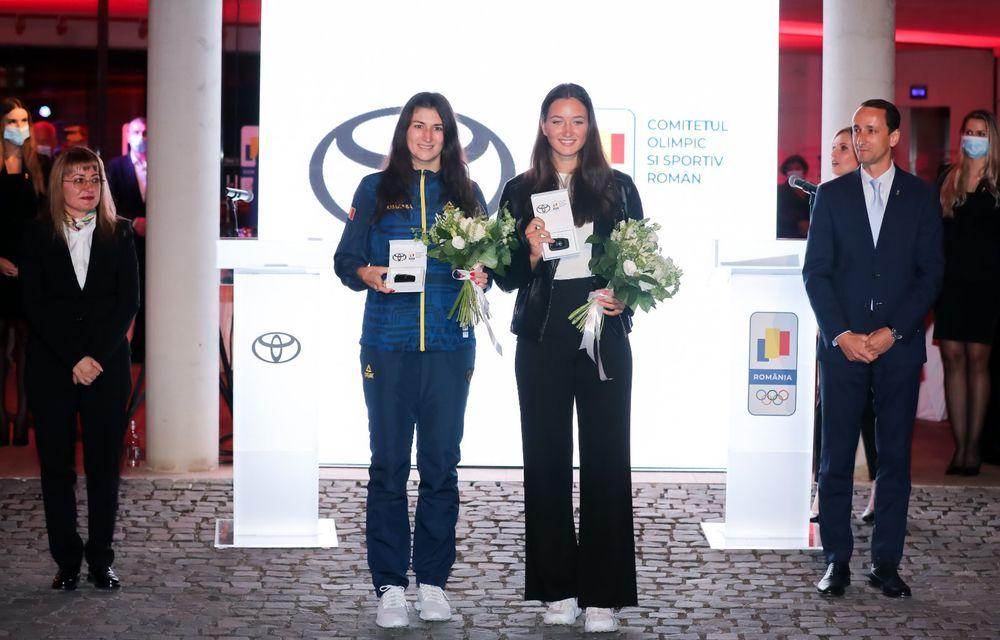 Medaliații români de la Tokyo au fost premiați cu modele Toyota hibrid - Poza 24