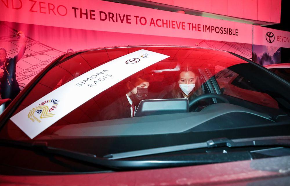 Medaliații români de la Tokyo au fost premiați cu modele Toyota hibrid - Poza 9