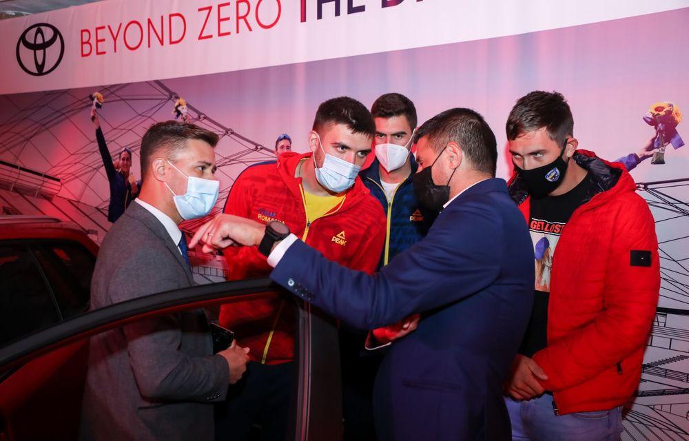 Medaliații români de la Tokyo au fost premiați cu modele Toyota hibrid - Poza 10
